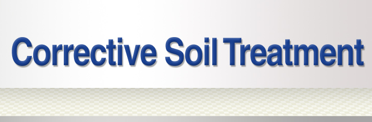 Corrective Soil Treatment